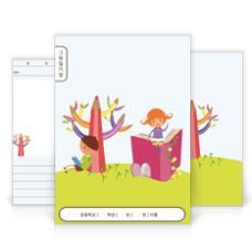 그림일기장(색연필과 책)